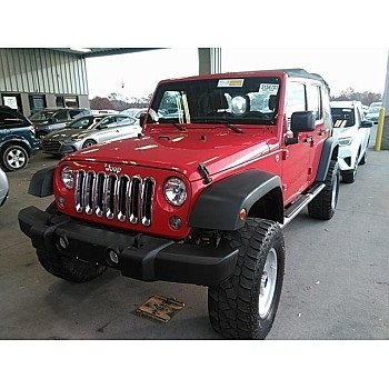 2015 Jeep Wrangler 4WD Unlimited Sport for sale 101241609