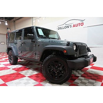 2015 Jeep Wrangler 4WD Unlimited Sport for sale 101245024