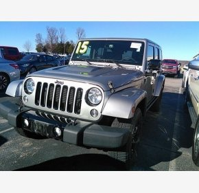 2015 Jeep Wrangler 4WD Unlimited Sahara for sale 101260070