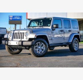 2015 Jeep Wrangler 4WD Unlimited Sahara for sale 101260084