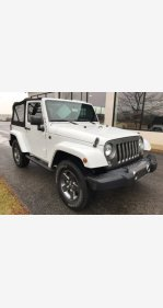 2015 Jeep Wrangler 4WD Sport for sale 101265440