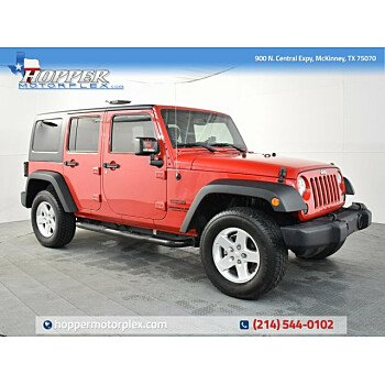 2015 Jeep Wrangler 4WD Unlimited Sport for sale 101272861
