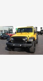 2015 Jeep Wrangler 4WD Unlimited Sport for sale 101291444