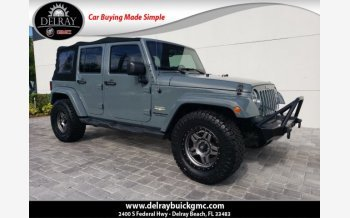 2015 Jeep Wrangler 4WD Unlimited Sahara for sale 101320299