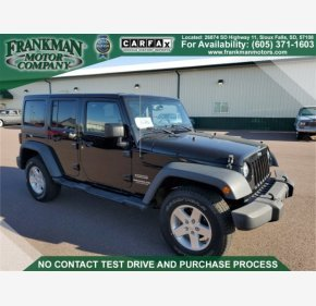 2015 Jeep Wrangler 4WD Unlimited Sport for sale 101322395
