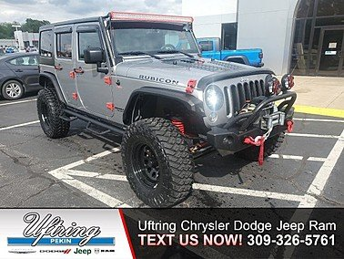 2015 Jeep Wrangler 4WD Unlimited Rubicon for sale 101325535