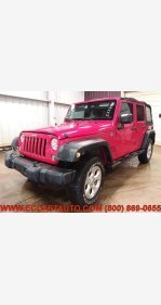 2015 Jeep Wrangler 4WD Unlimited Sport for sale 101326534