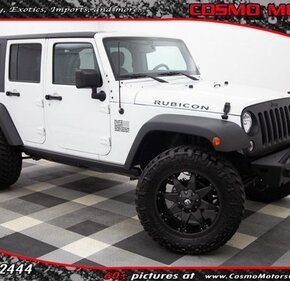 2015 Jeep Wrangler for sale 101350197
