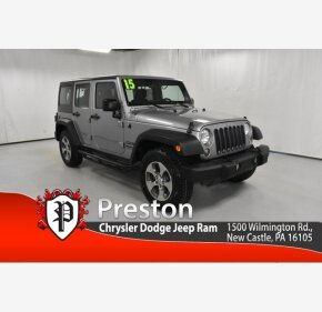 2015 Jeep Wrangler for sale 101356986