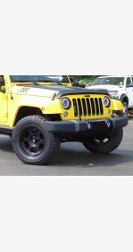 2015 Jeep Wrangler for sale 101367821