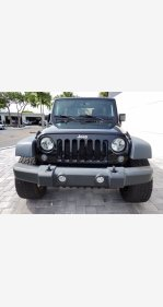 2015 Jeep Wrangler for sale 101372494