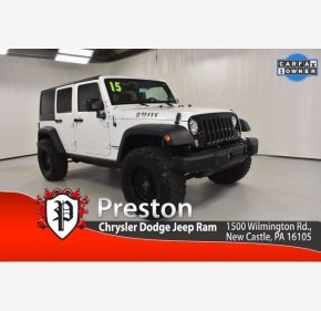 2015 Jeep Wrangler for sale 101386855