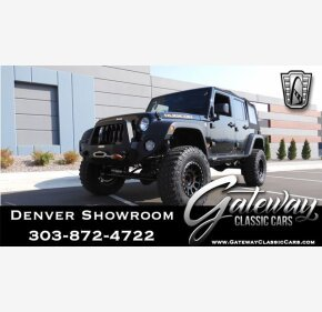 2015 Jeep Wrangler 4WD Unlimited Rubicon for sale 101418115