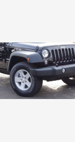 2015 Jeep Wrangler for sale 101430912