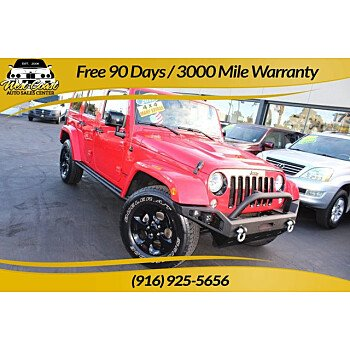 2015 Jeep Wrangler for sale 101524561