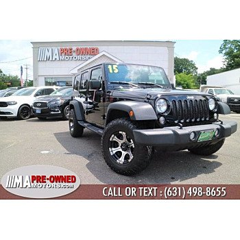 2015 Jeep Wrangler for sale 101543907