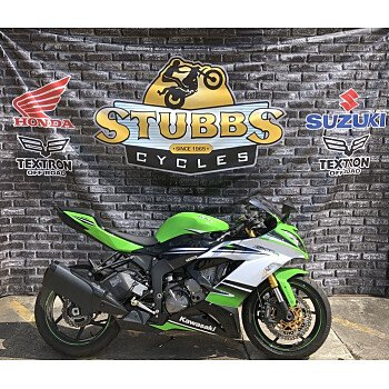 2015 Kawasaki Ninja ZX-6R for sale 200435865