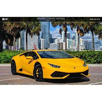 2015 Lamborghini Huracan LP 610-4 Coupe for sale 101257110