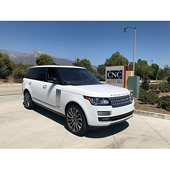 2015 Land Rover Range Rover Long Wheelbase Autobiography for sale 101199539
