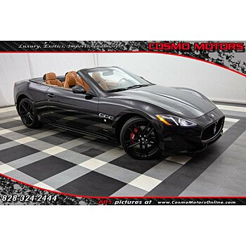 2015 Maserati GranTurismo Convertible for sale 101078865