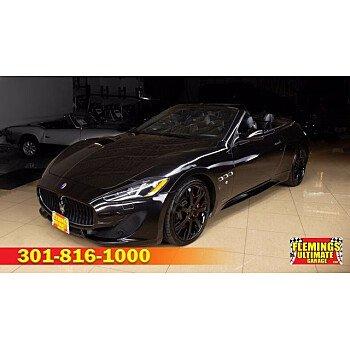 2015 Maserati GranTurismo Convertible for sale 101442503