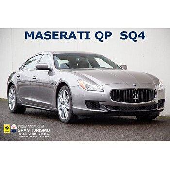 2015 Maserati Quattroporte S Q4 for sale 101261636