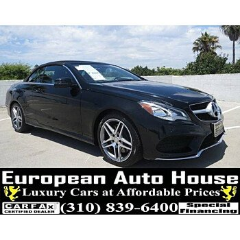 2015 Mercedes-Benz E550 Cabriolet for sale 101178249