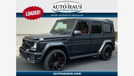 2015 Mercedes-Benz G63 AMG for sale 101396660
