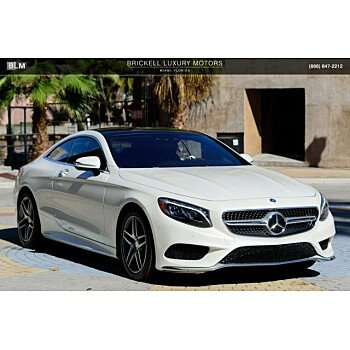 2015 Mercedes-Benz S550 4MATIC Coupe for sale 101060732