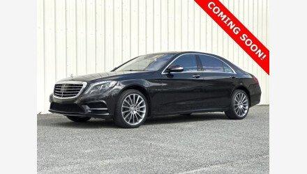 2015 Mercedes-Benz S550 Sedan for sale 101100393