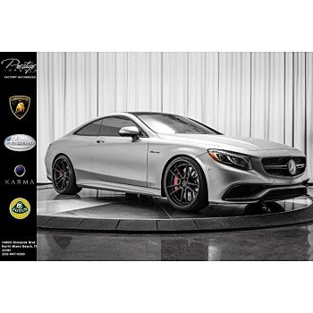 2015 Mercedes-Benz S63 AMG 4MATIC Coupe for sale 101116352