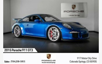 2015 Porsche 911 GT3 Coupe for sale 101217077