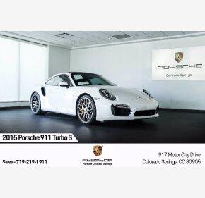 2015 Porsche 911 Turbo S for sale 101385209