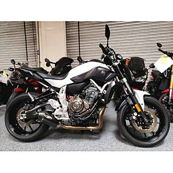 2015 Yamaha FZ-07 for sale 200813832