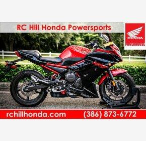 2015 Yamaha FZ6R for sale 201003345
