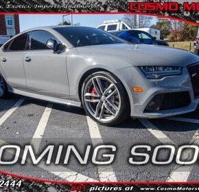 2016 Audi RS7 Prestige for sale 101237794