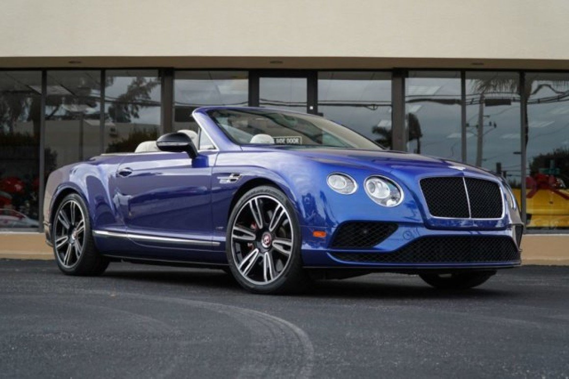 2016 Bentley Continental Gt V8 S Convertible For Sale Near Doral