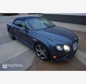 2016 Bentley Continental GTC Speed Convertible for sale 101067439