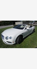 2016 Bentley Continental GT V8 Convertible for sale 101239306