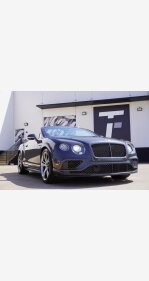 2016 Bentley Continental GT Speed for sale 101492643