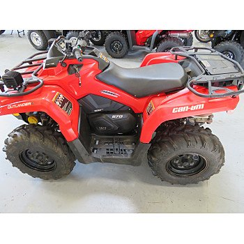 2016 Can-Am Outlander 570 L for sale 200794451