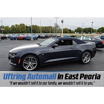 2016 Chevrolet Camaro LT Convertible for sale 101031329