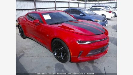 2016 Chevrolet Camaro LT Coupe for sale 101130500