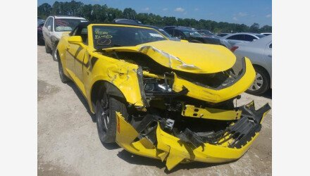 2016 Chevrolet Camaro LT Convertible for sale 101348286