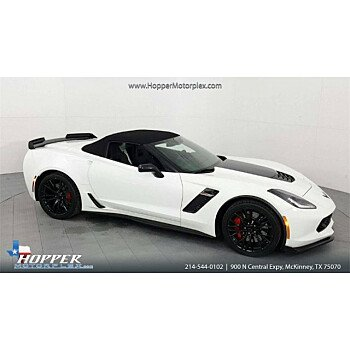 2016 Chevrolet Corvette Z06 Convertible for sale 101069309