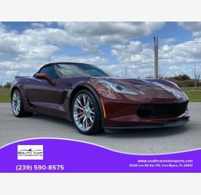 2016 Chevrolet Corvette Z06 Convertible for sale 101302718