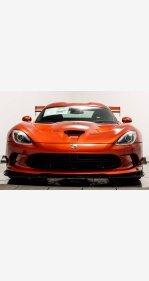 2016 Dodge Viper ACR for sale 101345235