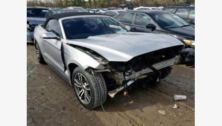 2016 Ford Mustang Convertible for sale 101110011