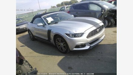 2016 Ford Mustang Convertible for sale 101125781