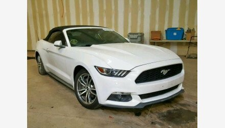 2016 Ford Mustang Convertible for sale 101190510